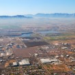 Aerial view of Phoenix city, Arizona — Stock Photo