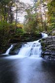 Waterfall in mountain — Stock Photo