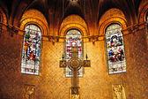 Boston trinity kilisesi haç — Stok fotoğraf