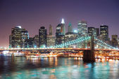 New york'un manhattan — Stok fotoğraf