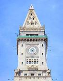 Boston Custom House closeup — Zdjęcie stockowe
