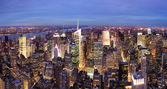 New York City Manhattan Times Square night — Stock Photo