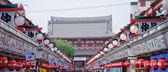 Nakamise-dori at Senso-ji Temple — Stock Photo