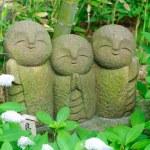 Jizo-Bodhisattva-statue — Stockfoto