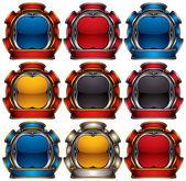 Vector emblems. — Stock Vector