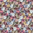 Royalty-Free Stock Vektorfiler: 3d cubes seamless pattern 2.