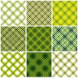 Classic textile seamless patterns set. — Stock Vector #6179435
