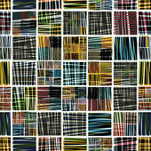 Colorful textile seamless pattern. — Stockvektor