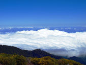 Sopra le nuvole — Foto Stock