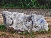 Visage de pierre — Photo