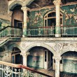Stock Photo: Old dilapidated staircase