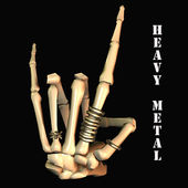 Heavy Metal — Stockfoto