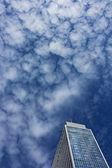 Skyscraper in the Sea of Clouds — Stock Photo