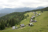 Traditional Alpine village — Stock Photo