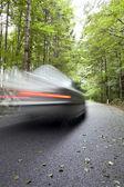 Car speeding — Stock Photo