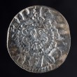 Ancient silver coin — Stock Photo