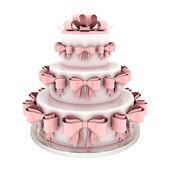 Güzel düğün pastası — Stok fotoğraf