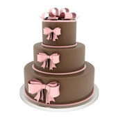 Beautiful wedding cake — Stock Photo