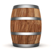 Wood barrel — Stock Photo