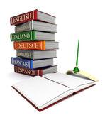 Books bindings and Literature — Stock Photo