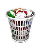 Waste basket — Stock Photo