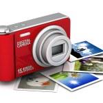 Digital camera — Stock Photo #6631455