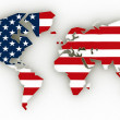 World map — Stock Photo #6674757