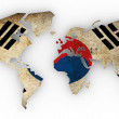 World map — Stock Photo #6674856