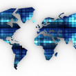 World map — Stock Photo #6675596