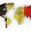 World map — Stock Photo #6675609