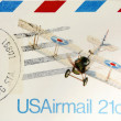 Stock Photo: Airmail
