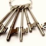 chaves no porta-chaves — Fotografia Stock  #5968784
