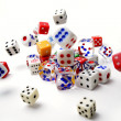 Tumbling dice — Stock Photo