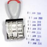 Date stamper — Stock Photo #6144594
