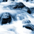 Cool, fast flowing, fresh water mountain stream — Stock Photo #6414096