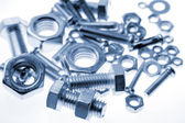 Nuts and bolts — Foto de Stock