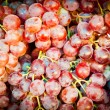 Fresh red grape — Stock Photo