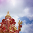 Ganesha in the sky — Photo