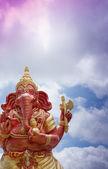 Ganesha in the sky — Stock Photo