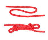 Knot series : sheep shank — Stock Photo