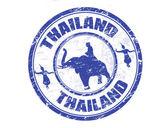 Thailand stamp — Stock Vector