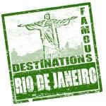 Rio de Janeiro stamp — Stock Vector #5442611