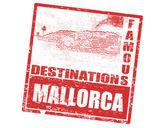 Mallorca stamp — Stock Vector