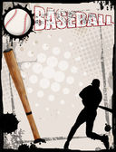 Baseball poster — Stock Vector