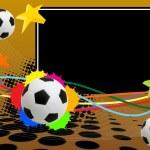 Soccer poster — Stock Vector #5659824