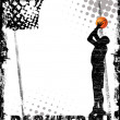 Basketball poster - Grafika wektorowa