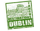 Dublin stamp — Stock Vector
