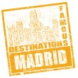 Madrid stamp — Stock Vector #5775977