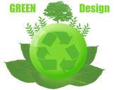 Green design. — Stock Vector