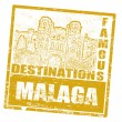 Royalty-Free Stock Vector Image: Malaga stamp